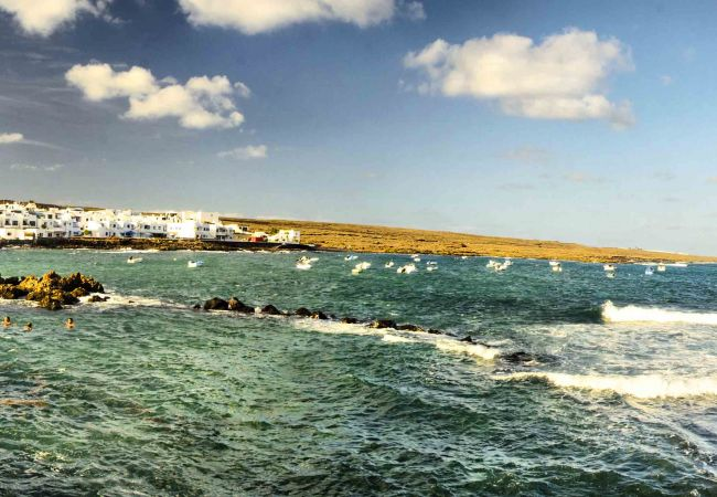 Apartamento en Punta Mujeres - La Casa de Las Salinas, 2 pax - Su casa costera a metros del mar