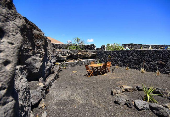 Apartamento en Macher - Casa Peñas Blancas, Piscina-Jameo entre Volcánes