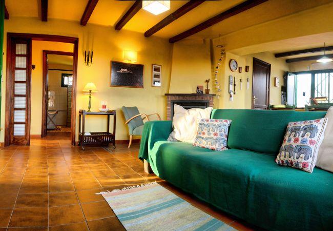 House in Tías - Eco Finca Alcairón, wine and wifi