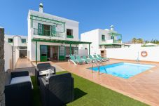 Villa in Playa Blanca - Villa Vera 6, with private heated pool and air conditioning
